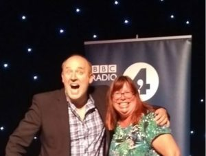 Tim Vine and Sue Haswell Laughter Yoga Radio 4