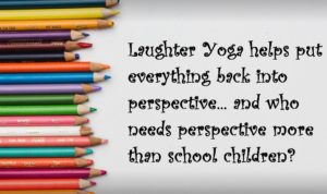Laughter Yoga perspective and pencils